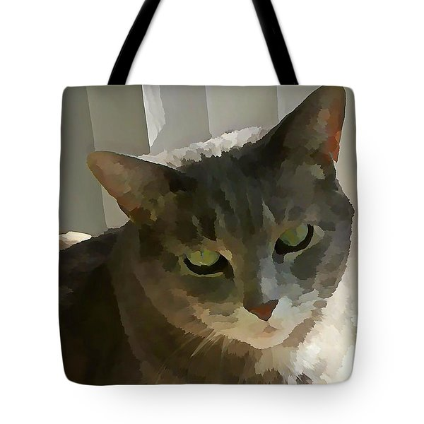 Looking Angelic Tote Bag
