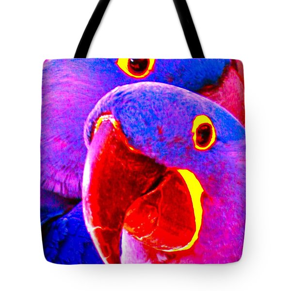 Looking At Me Tote Bag