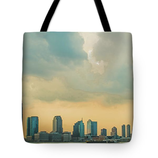 Looking At New Jersey Tote Bag