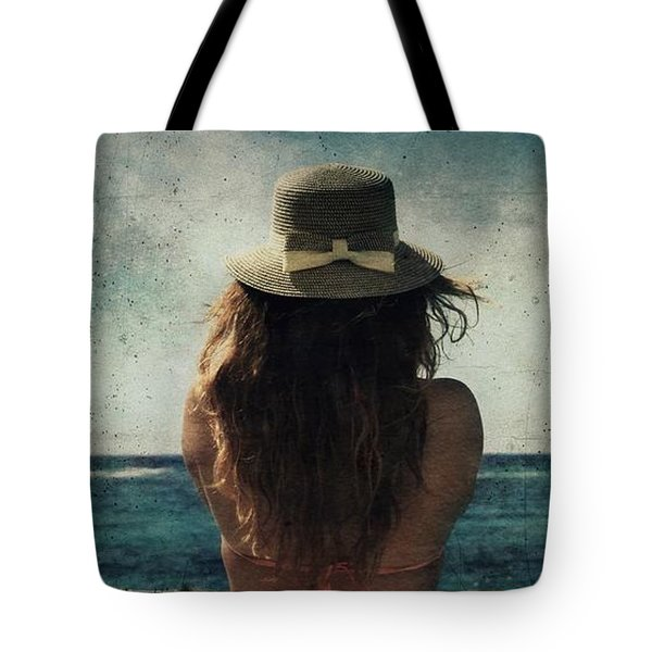 Looking At The Horizon Tote Bag