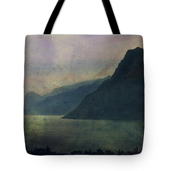 Looking At The Lake... Tote Bag