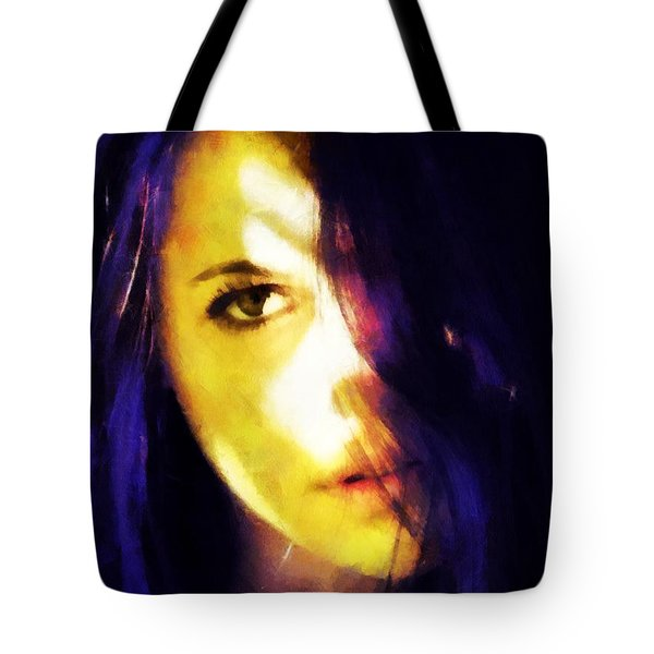 Looking At The World With One Eye Is Enough Tote Bag by Gun Legler