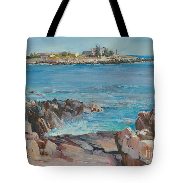 Looking At Walkers Point Estate  Tote Bag