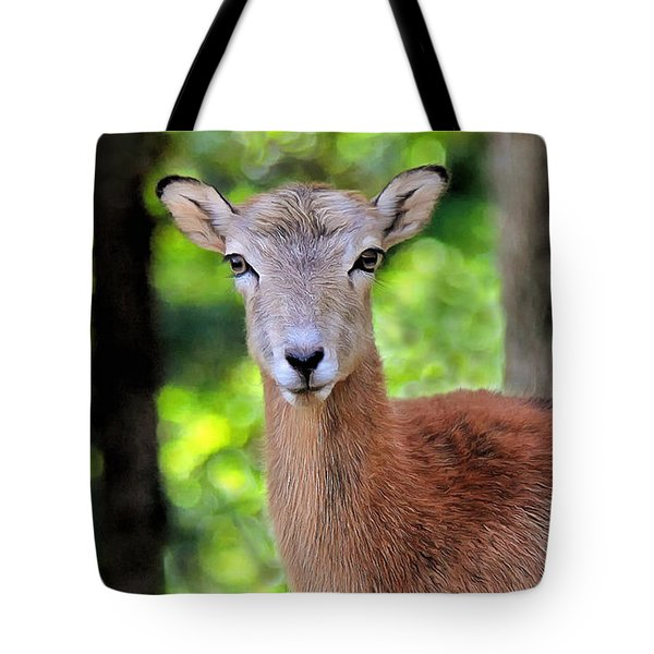 Looking At You Tote Bag by Marion Johnson