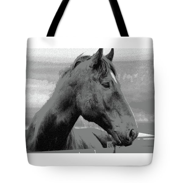Tote Bag featuring the photograph Looking Away by Ellen O'Reilly