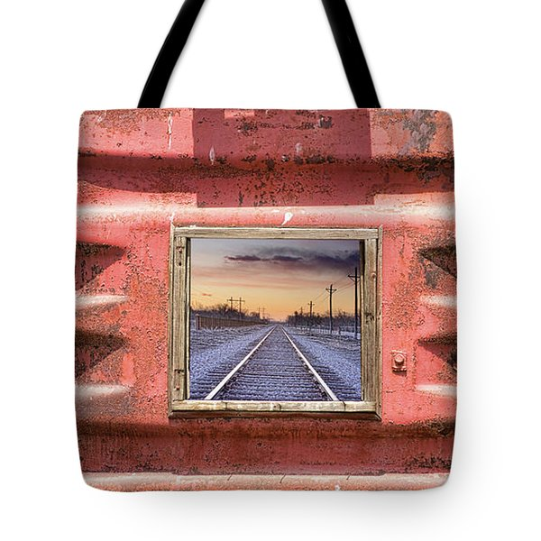 Looking Back Tote Bag by James BO Insogna