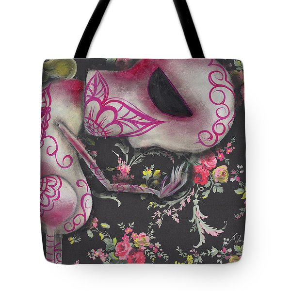 Looking Down Tote Bag by Abril Andrade Griffith