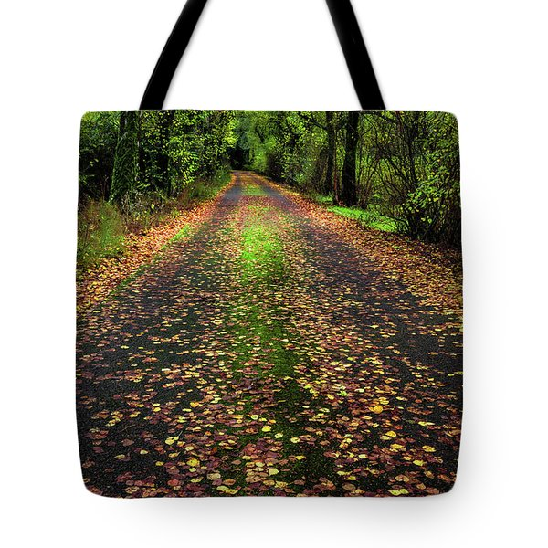 Looking Down The Lane Tote Bag