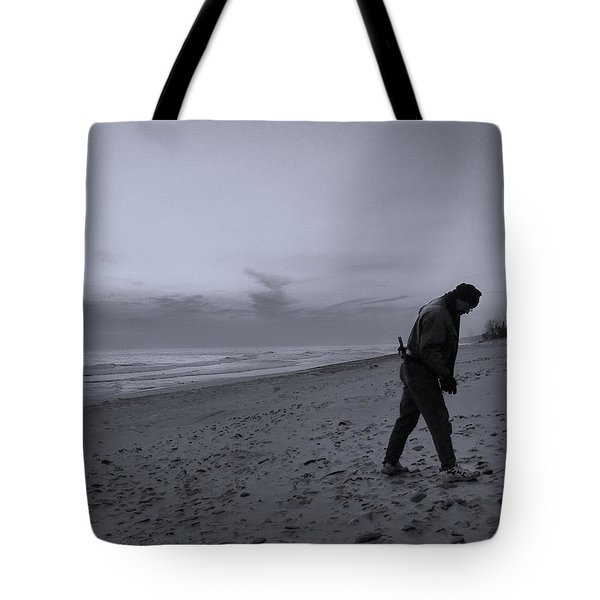 Looking For A Smooth Stone  Tote Bag