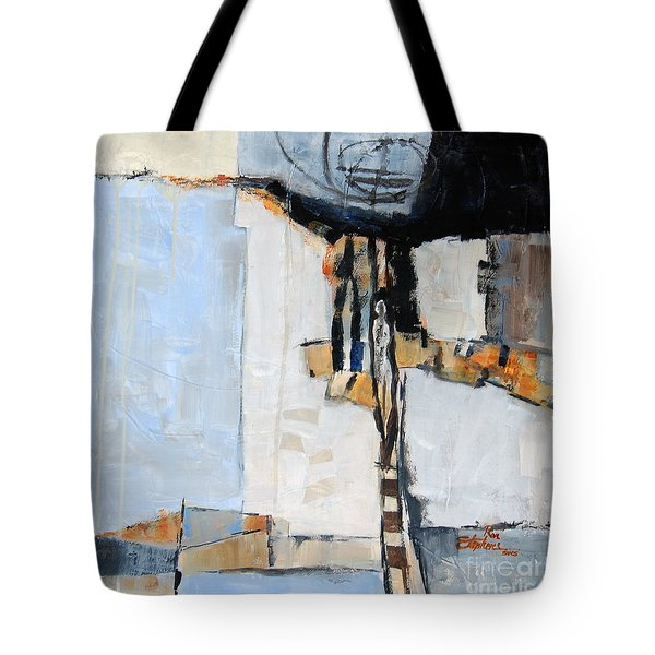 Looking For A Way Out Tote Bag by Ron Stephens