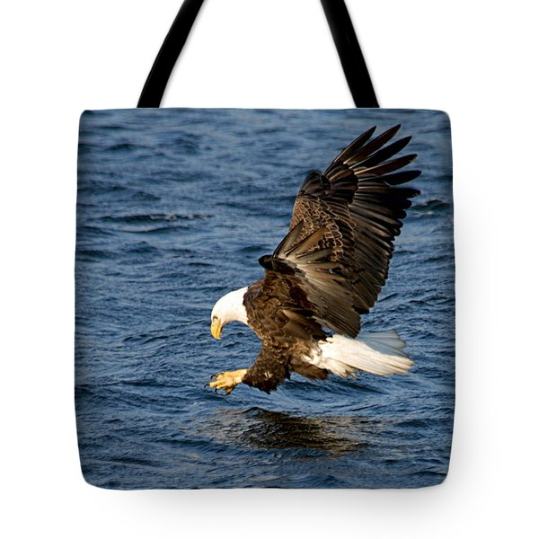 Looking For Fish Tote Bag by Larry Ricker