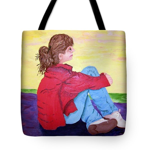 Looking For Hope Tote Bag