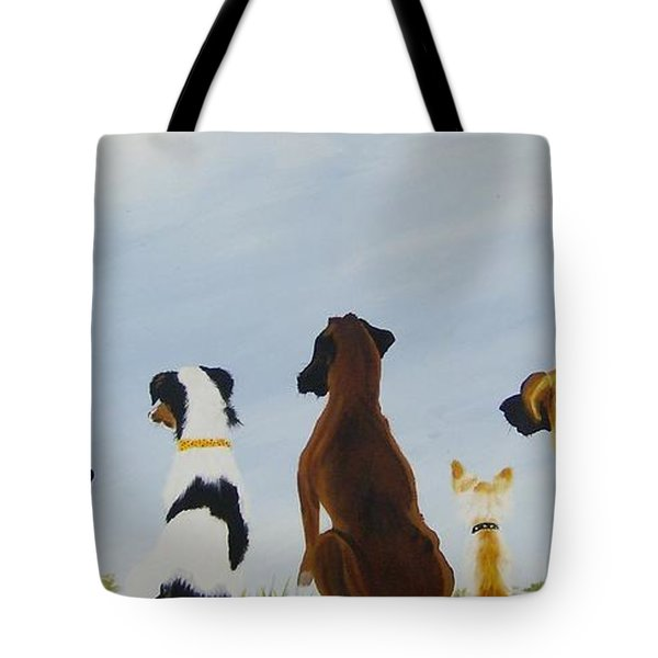 Looking For Our Forever Home Tote Bag