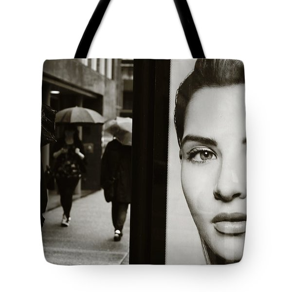 Tote Bag featuring the photograph Looking For Your Eyes by Empty Wall