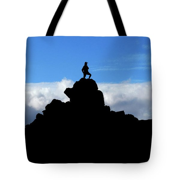 The Summit Hunter Tote Bag