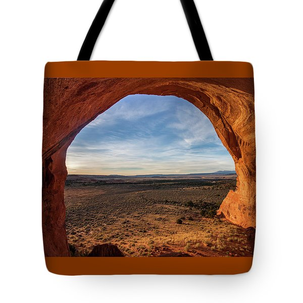 Looking Glass Arch Tote Bag