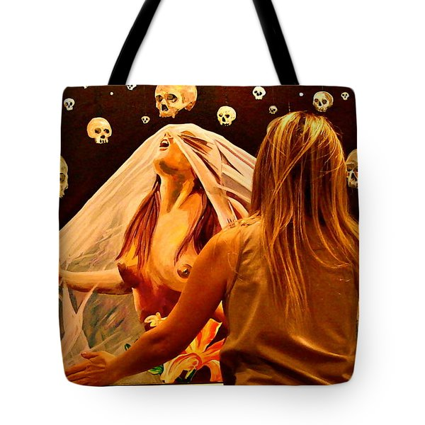 Looking Glass Tote Bag by Yelena Tylkina