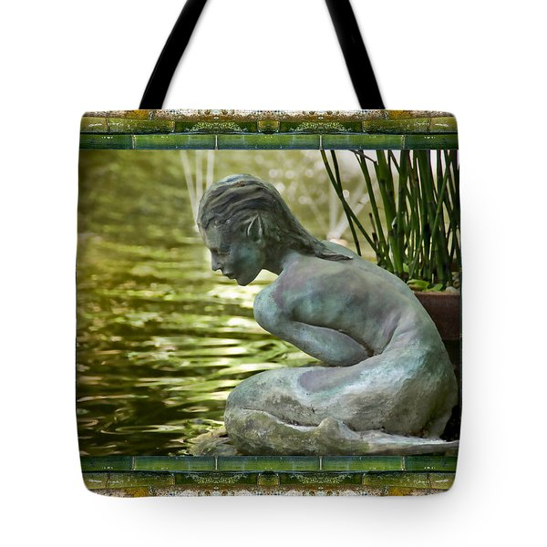 Tote Bag featuring the photograph Looking In by Bell And Todd