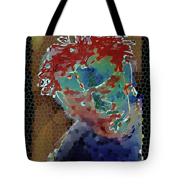 Looking In Tote Bag