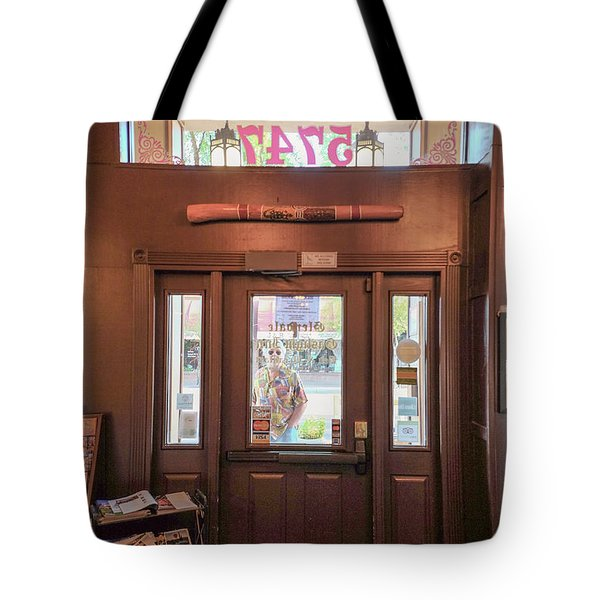Looking In, Looking Out Tote Bag by Charles Ables