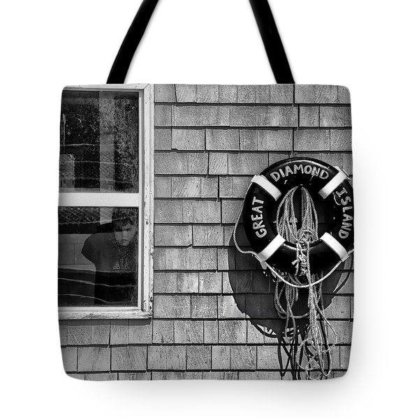 Looking In - Looking Out Tote Bag by Richard Bean