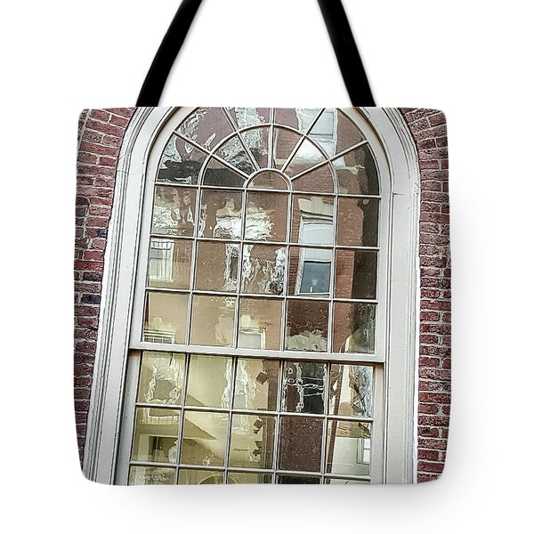 Looking Into History Tote Bag by Bruce Carpenter