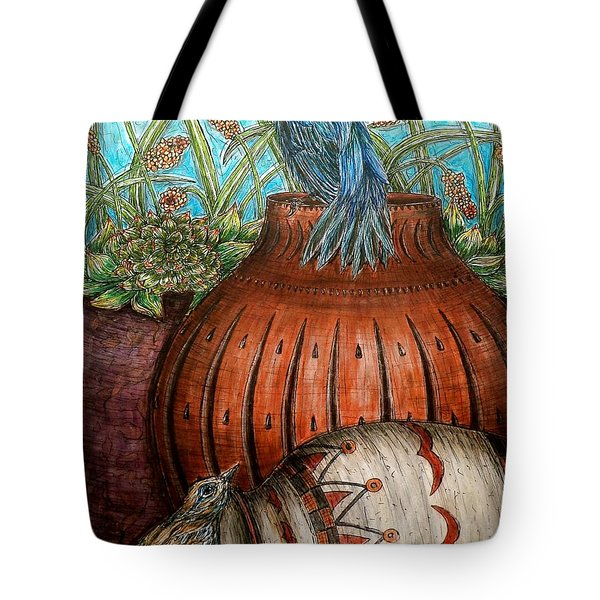 Looking Out For Each Other Tote Bag