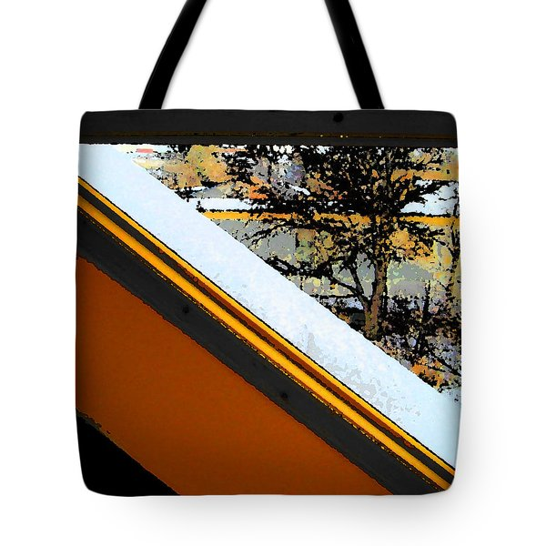 Looking Out My Brothers Window Tote Bag by Lenore Senior