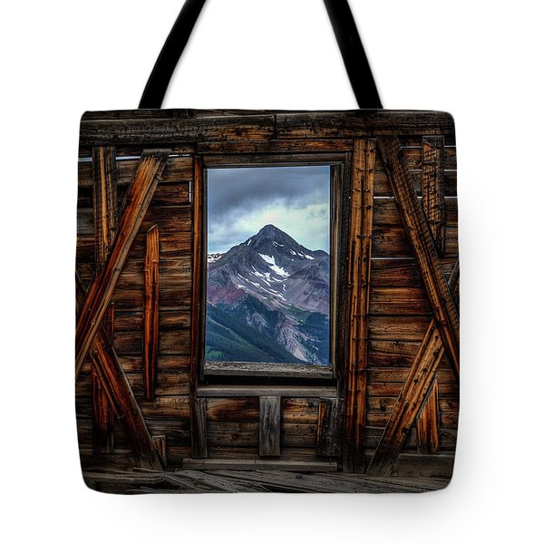 Looking Past Tote Bag
