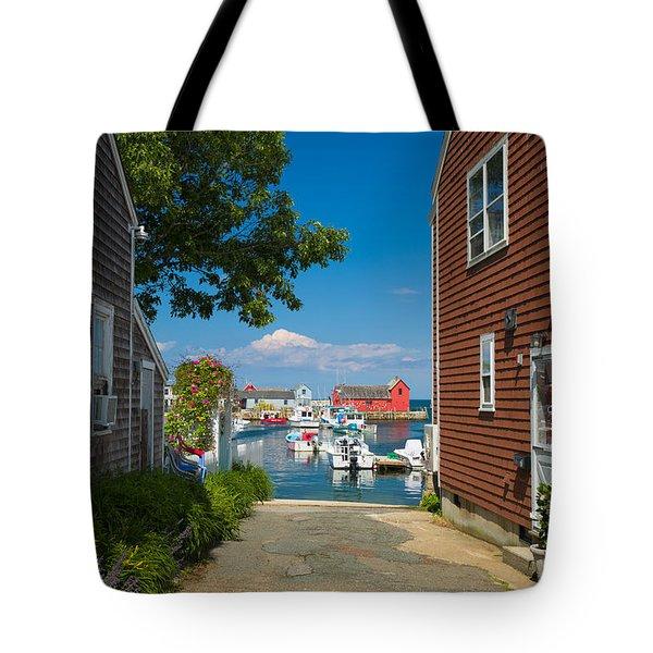 Looking Rockport Tote Bag