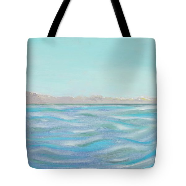 Looking South Tryptic Part 1 Tote Bag