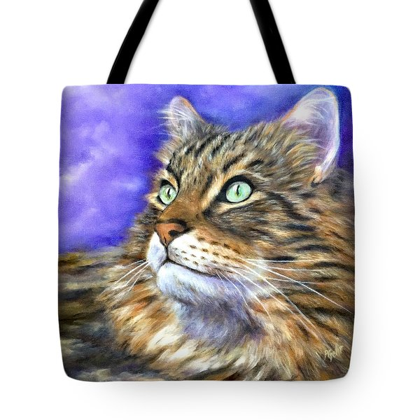 Looking To The Rainbow Bridge Tote Bag