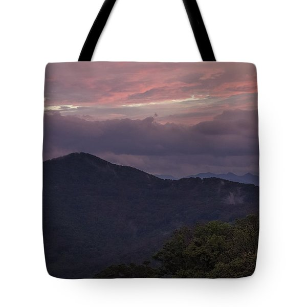 Looking Toward The Black Mountains Tote Bag