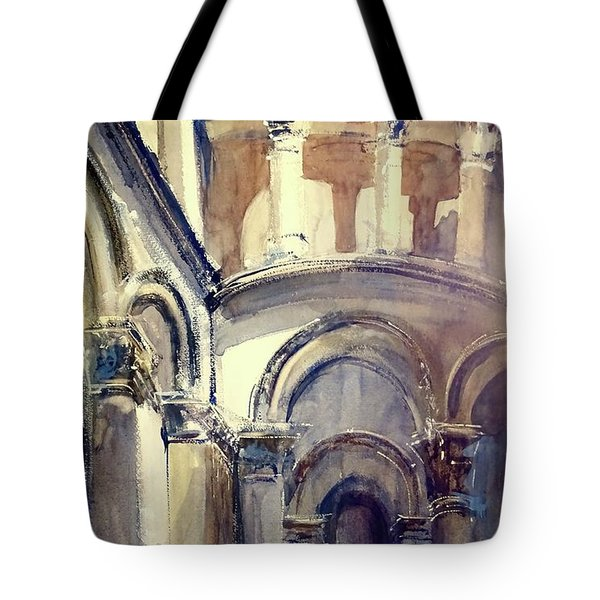 Looking Up At Lucca Tote Bag
