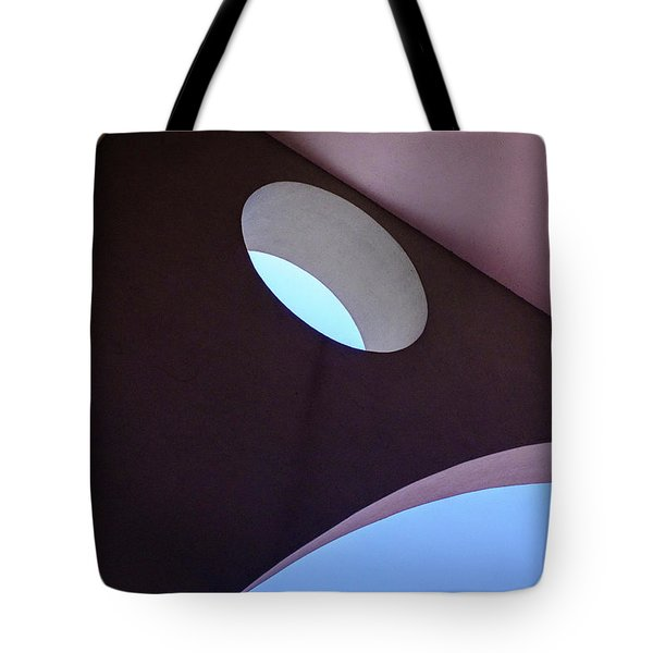 Looking Up At Strange Architecture In Sanford Florida Tote Bag