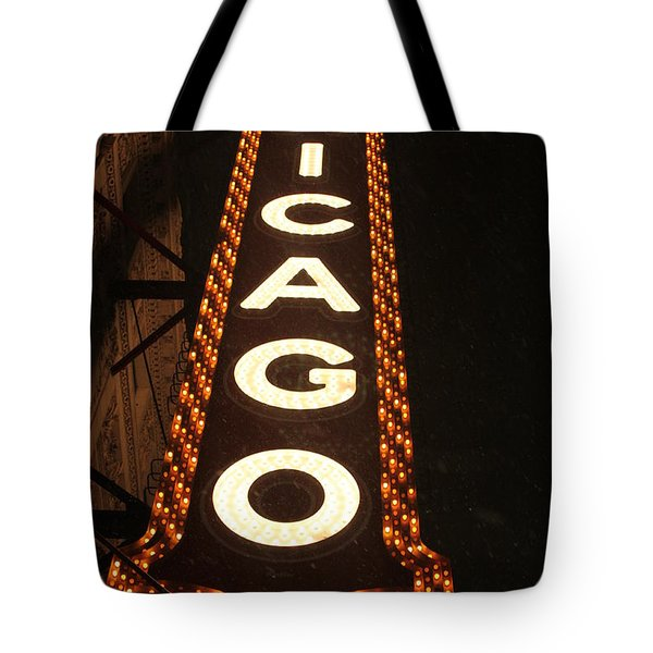 Looking Up Chicago Tote Bag by Lauri Novak