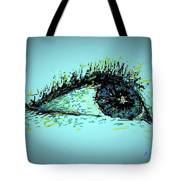 Looking Up Tote Bag by Denise Fulmer