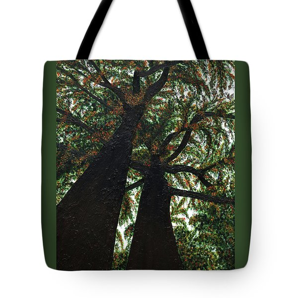 Looking Up Tote Bag by Donna Manaraze