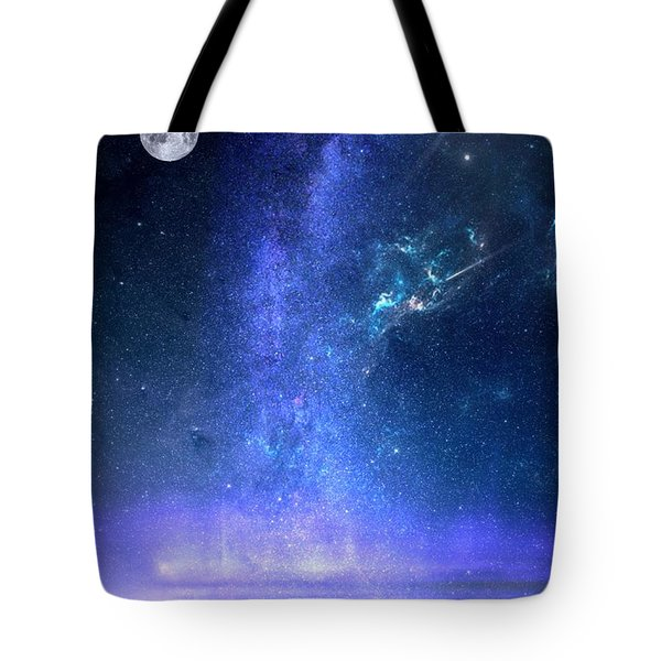 Tote Bag featuring the painting Looking Up by Mark Taylor