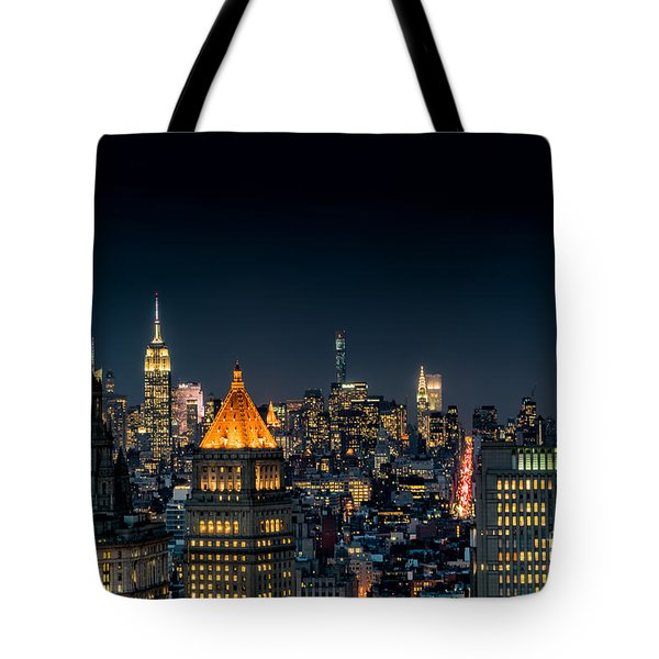 Looking Uptown Tote Bag by Rafael Quirindongo