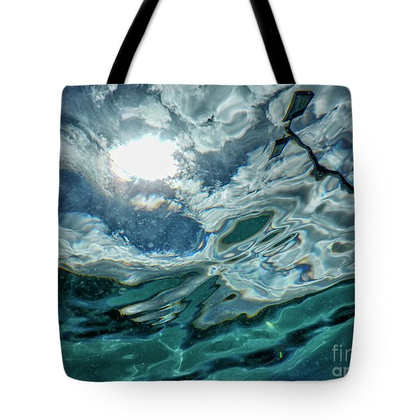 Looking Upwards Tote Bag