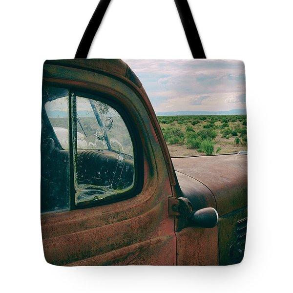 Looking West Tote Bag