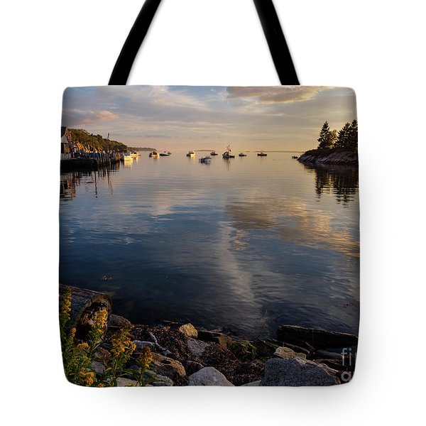 Lookout Point, Harpswell, Maine  -99044-990477 Tote Bag