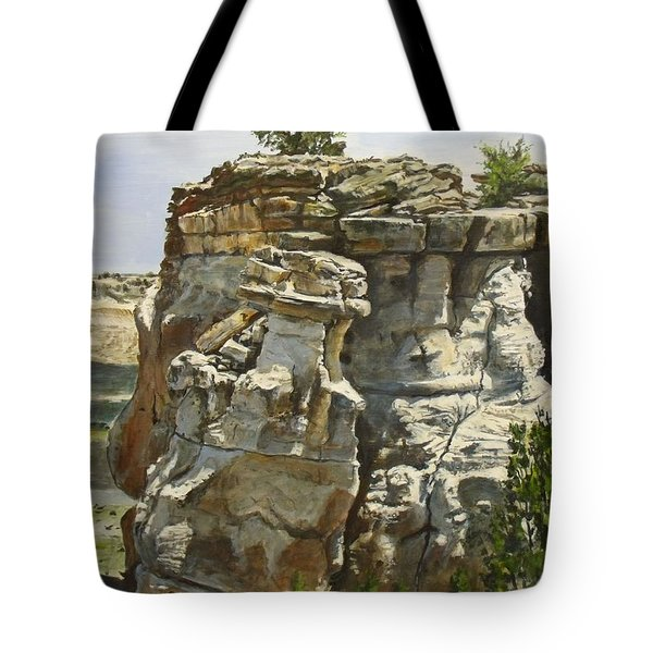 Lookout Point Tote Bag