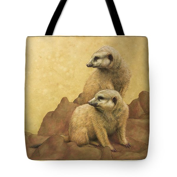 Lookouts Tote Bag by James W Johnson