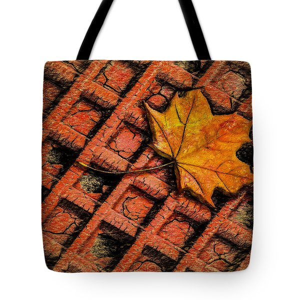 Looks Like Another Leaf Tote Bag by Paul Wear