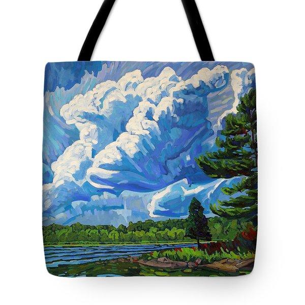 Looks Like Thunder Tote Bag