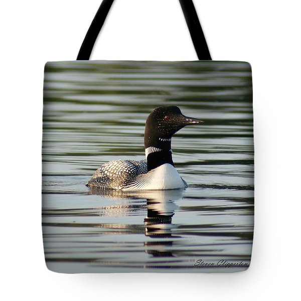 Loon 1 Tote Bag by Steven Clipperton