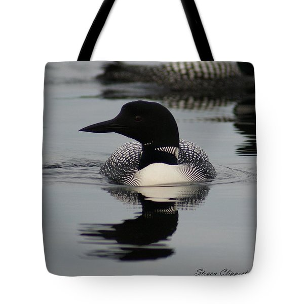 Loon 2 Tote Bag by Steven Clipperton