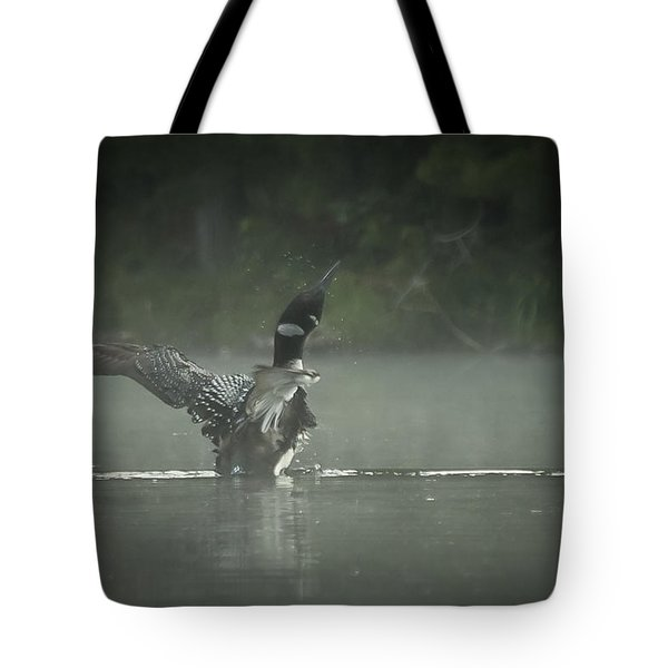 Loon 7 Tote Bag
